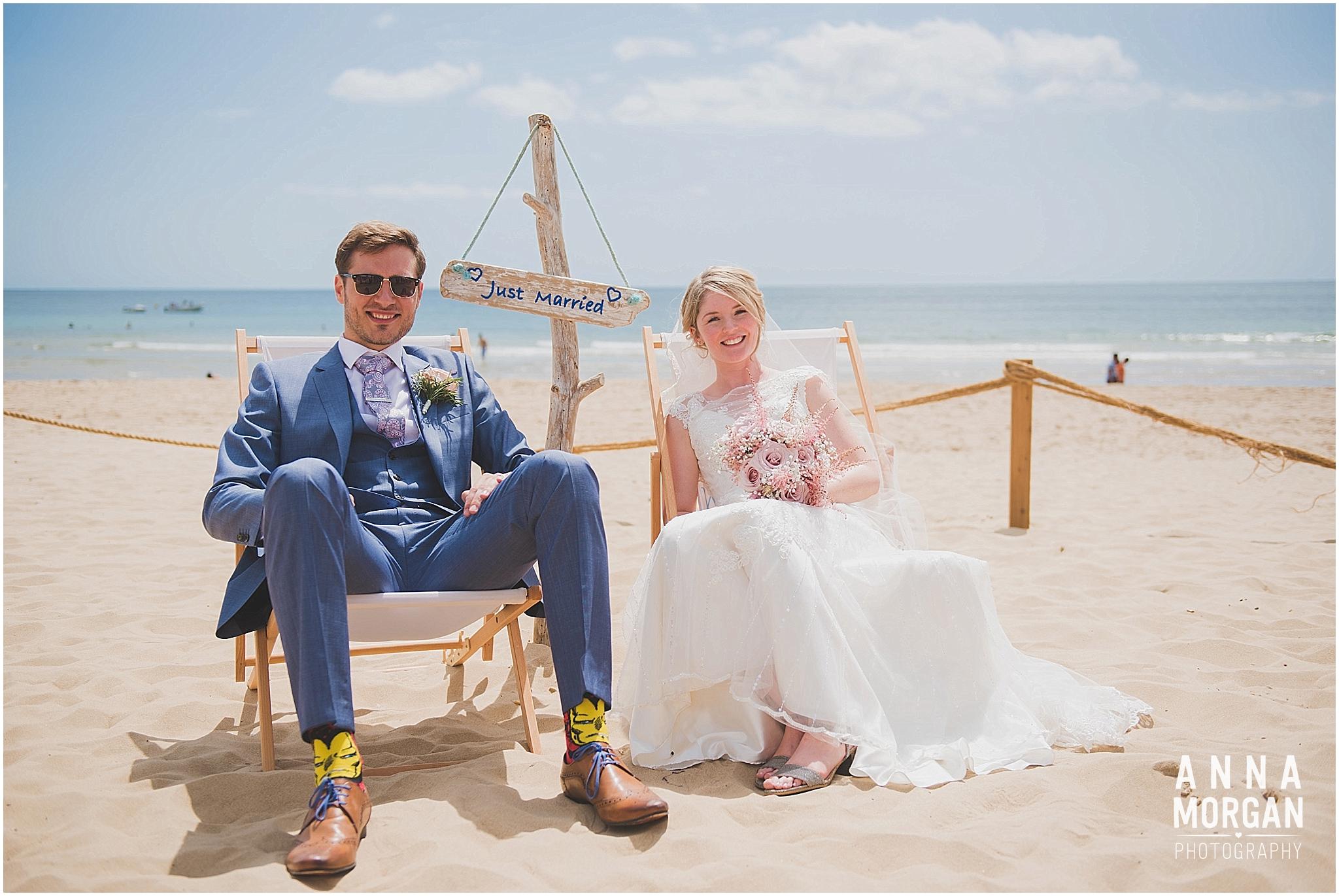 Beach Wedding Bournemouth Wedding Photographer Jess & Louis -69