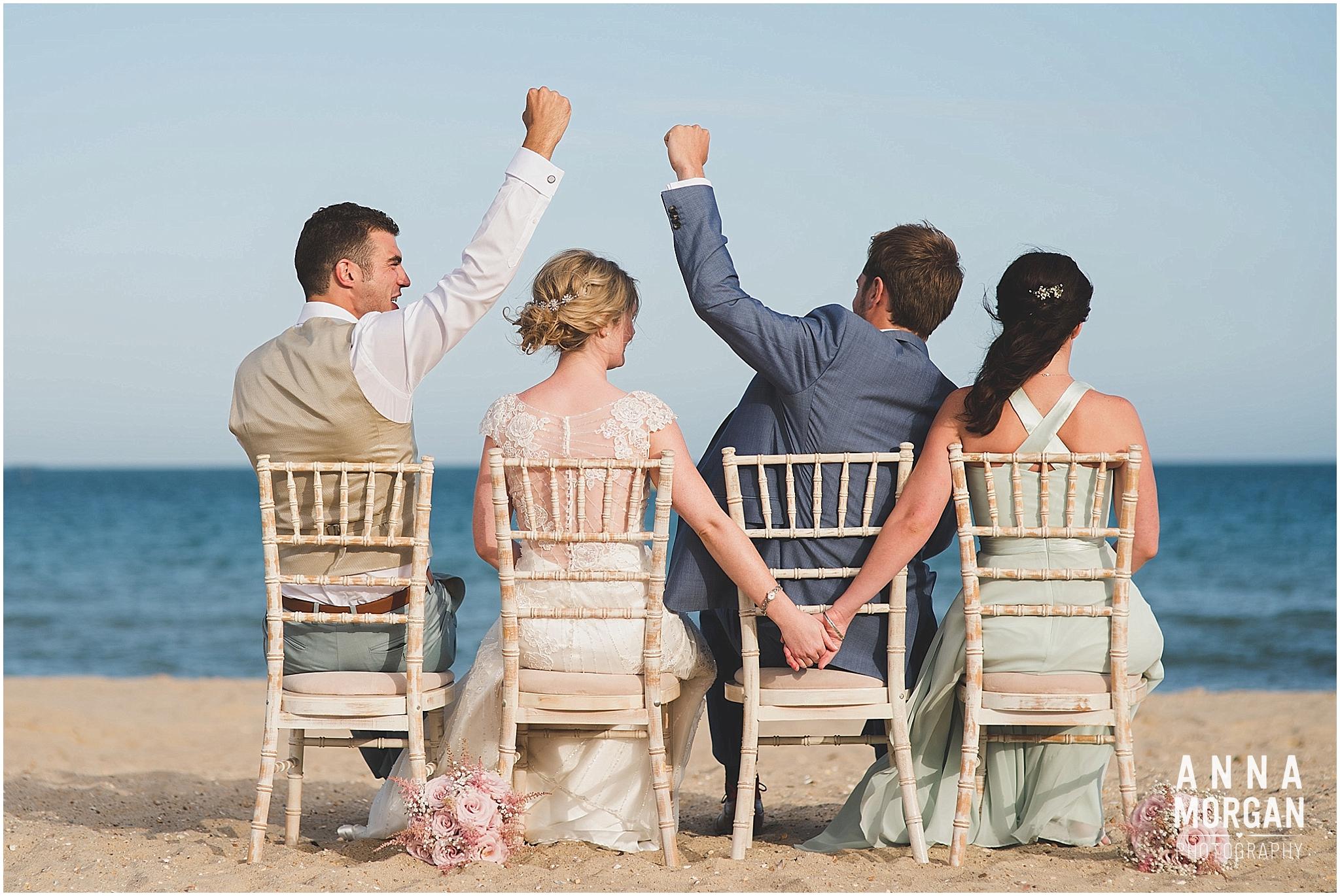 Beach Wedding Bournemouth Wedding Photographer Jess & Louis -96