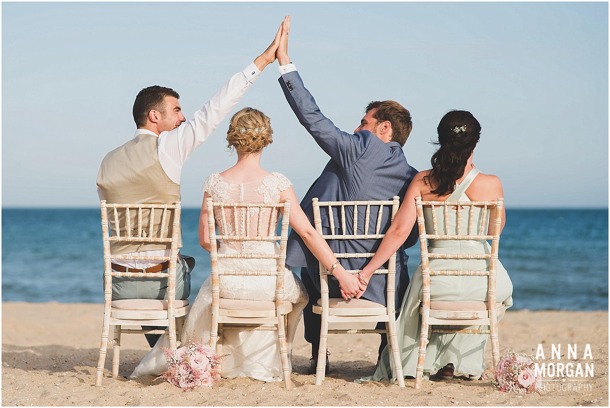 Beach Wedding Bournemouth Wedding Photographer Jess & Louis -97