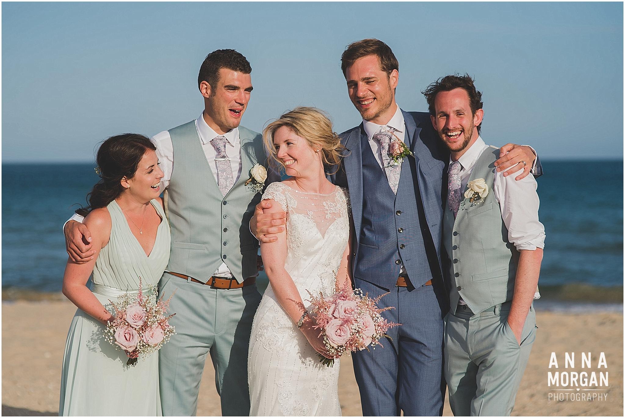 Beach Wedding Bournemouth Wedding Photographer Jess & Louis -98