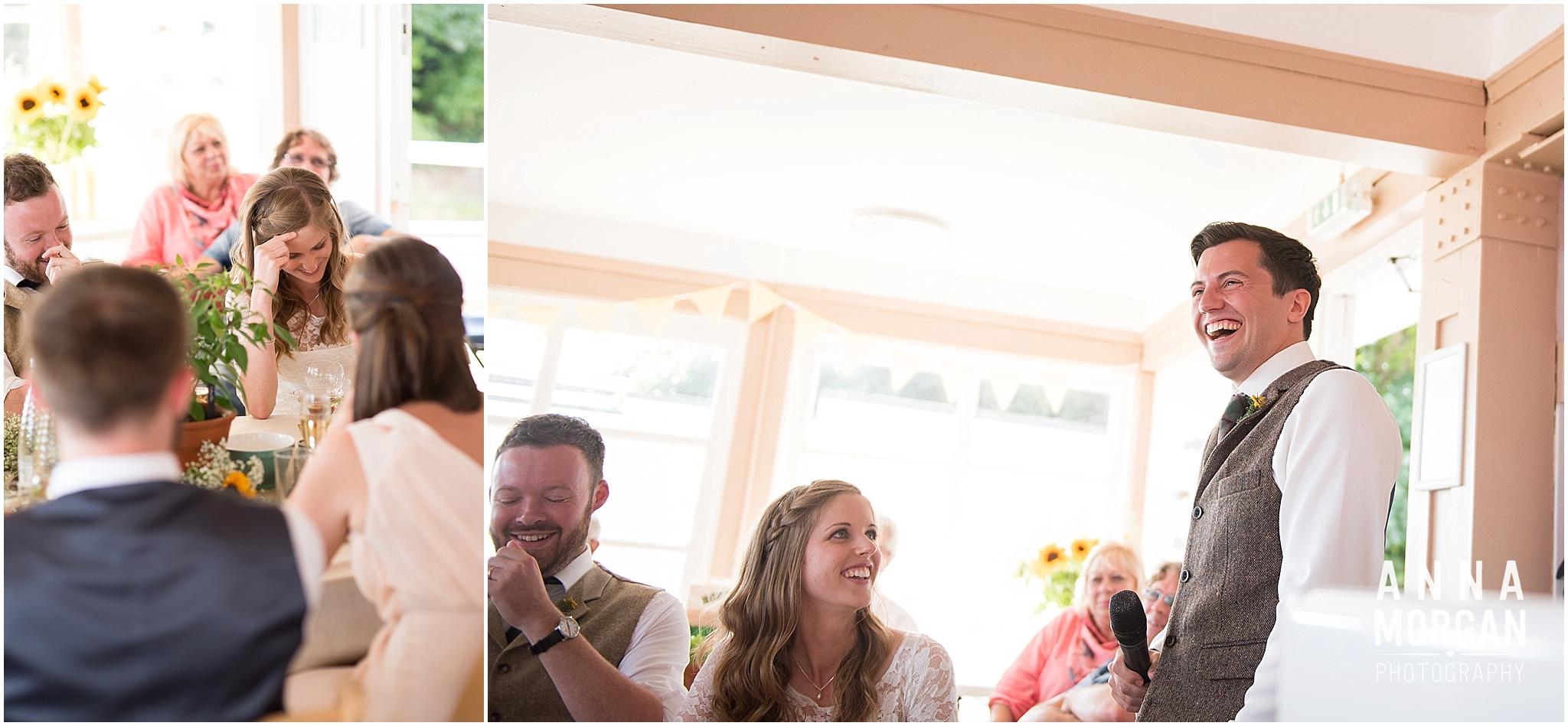 Katie & Hugh Branksome Chine beach wedding Dorset-109