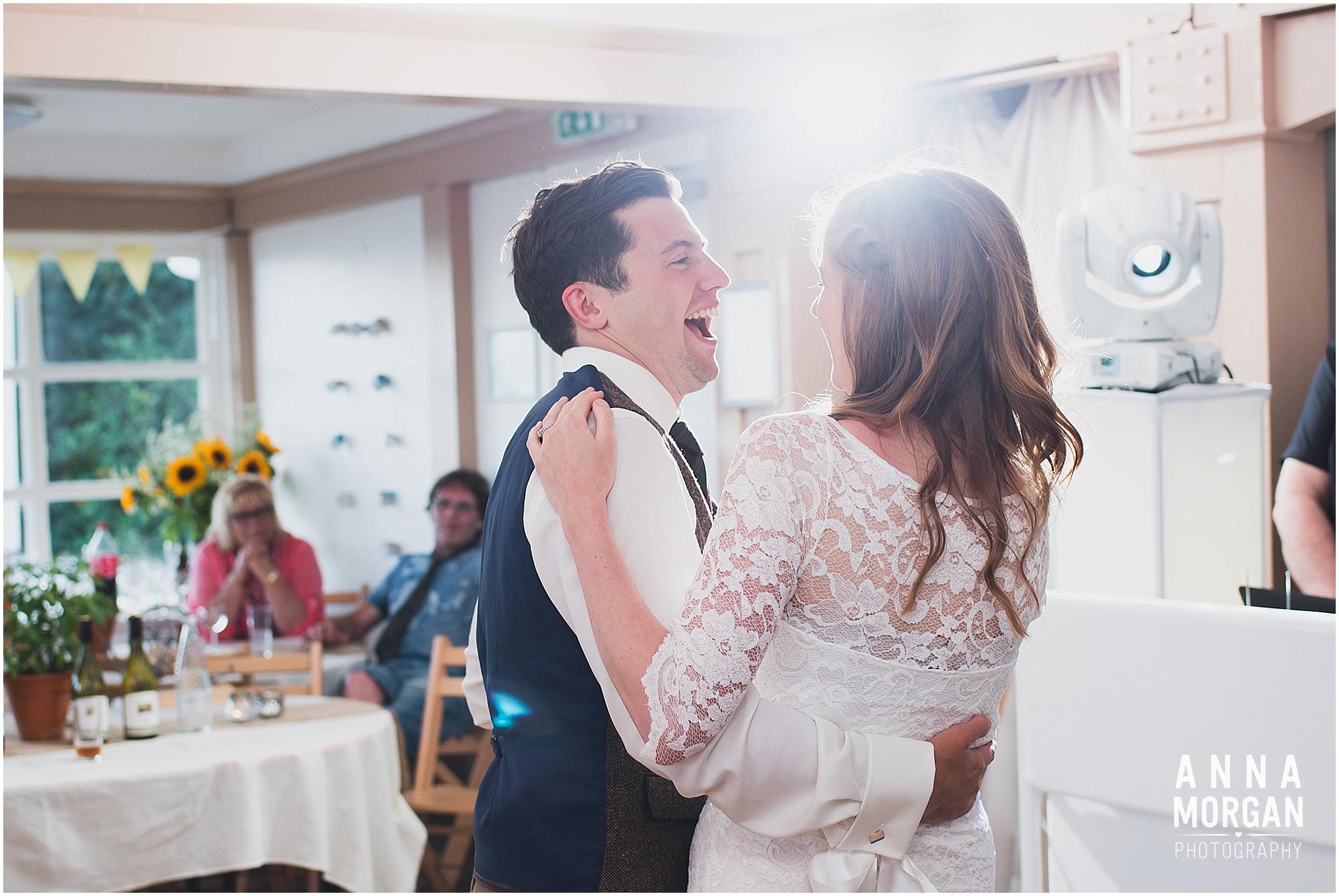 Katie & Hugh Branksome Chine beach wedding Dorset-142