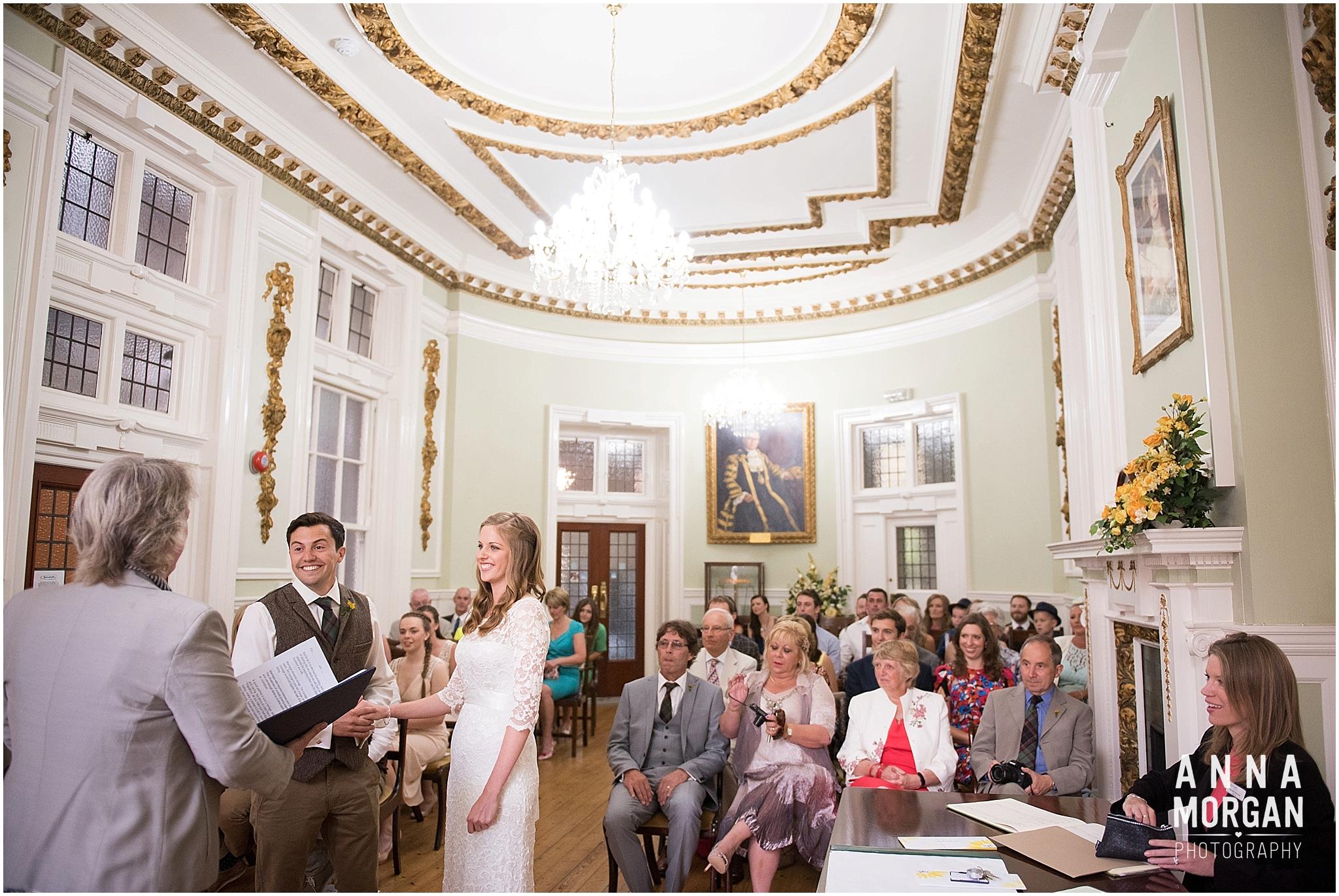 Katie & Hugh Branksome Chine beach wedding Dorset-17