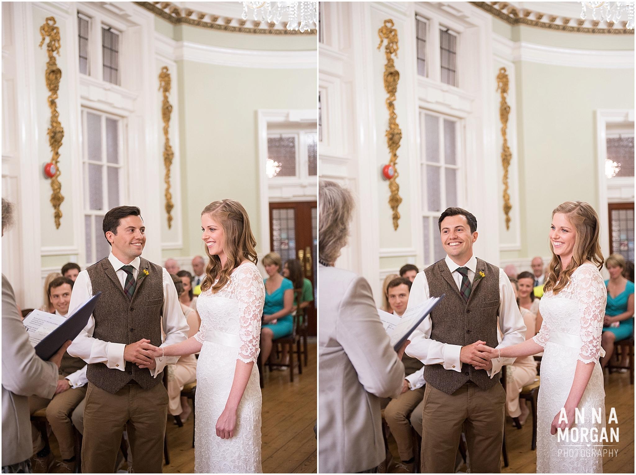 Katie & Hugh Branksome Chine beach wedding Dorset-19