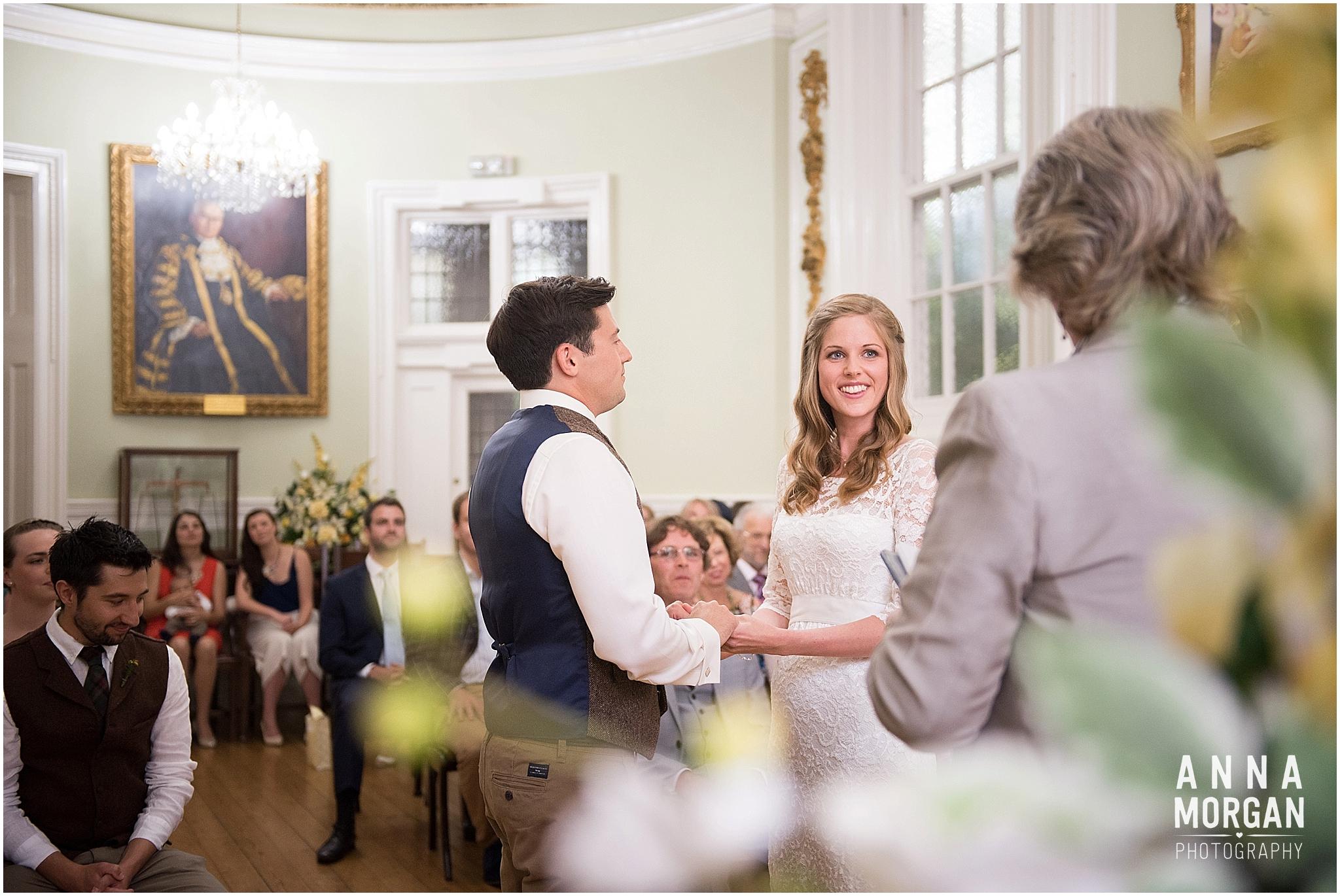 Katie & Hugh Branksome Chine beach wedding Dorset-23