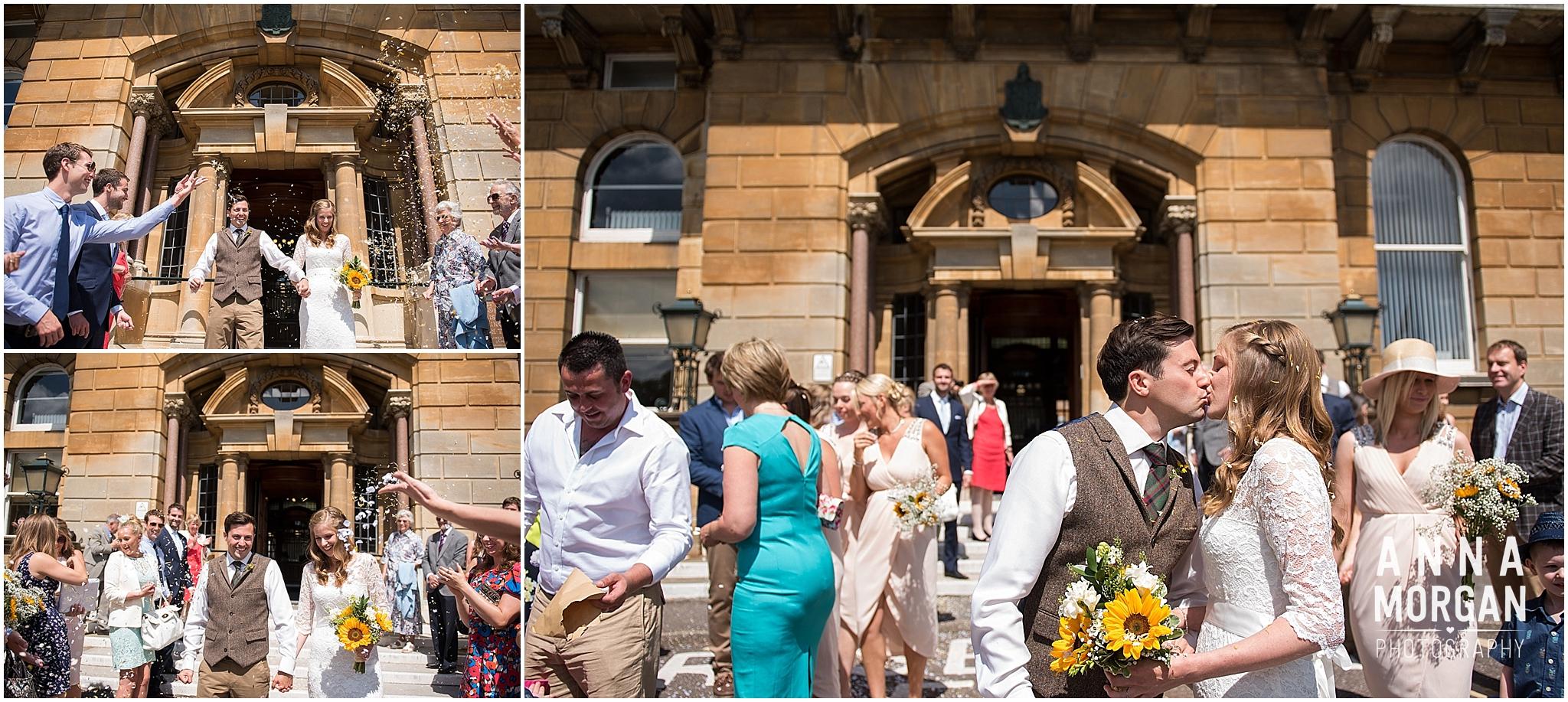 Katie & Hugh Branksome Chine beach wedding Dorset-27
