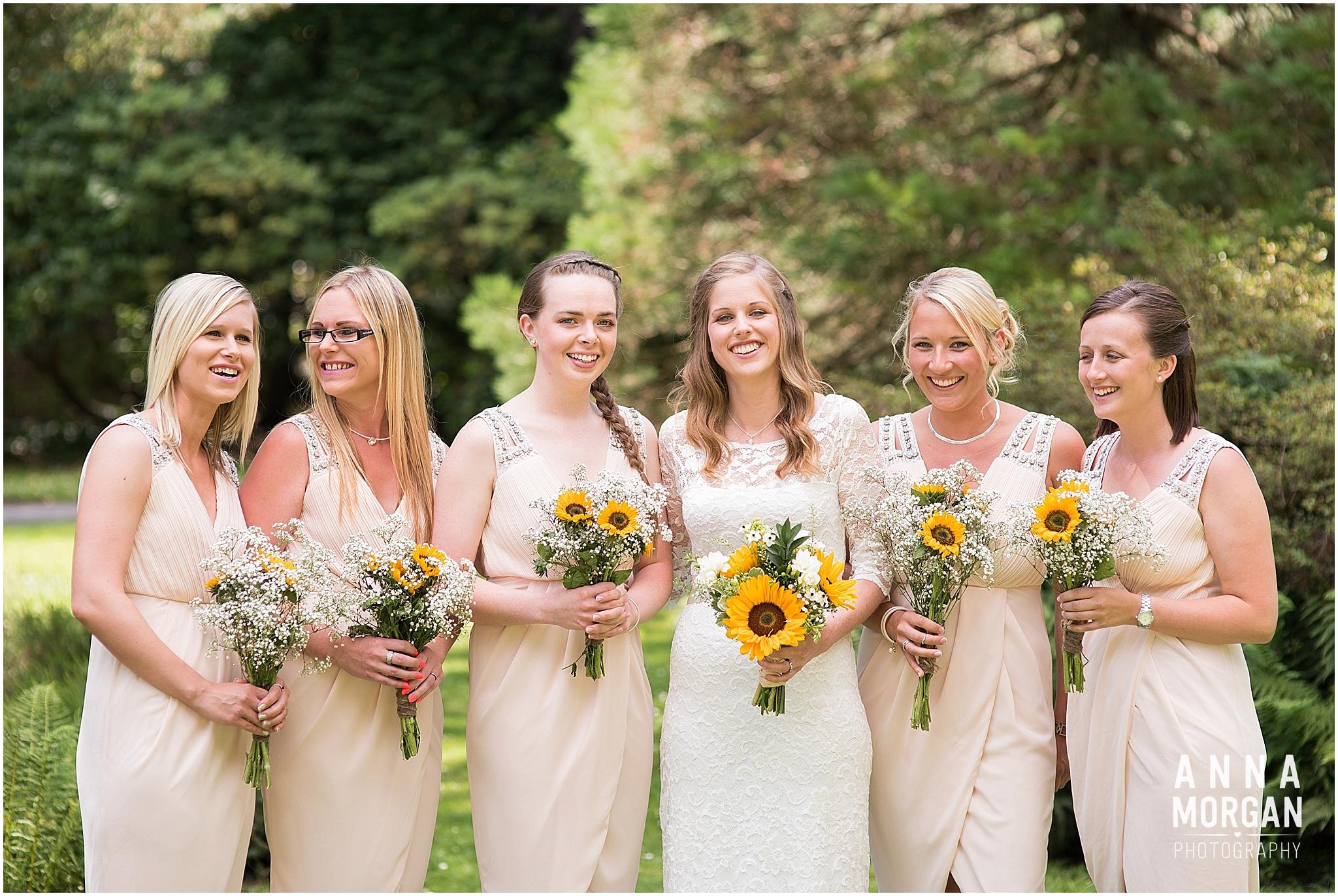 Katie & Hugh Branksome Chine beach wedding Dorset-31