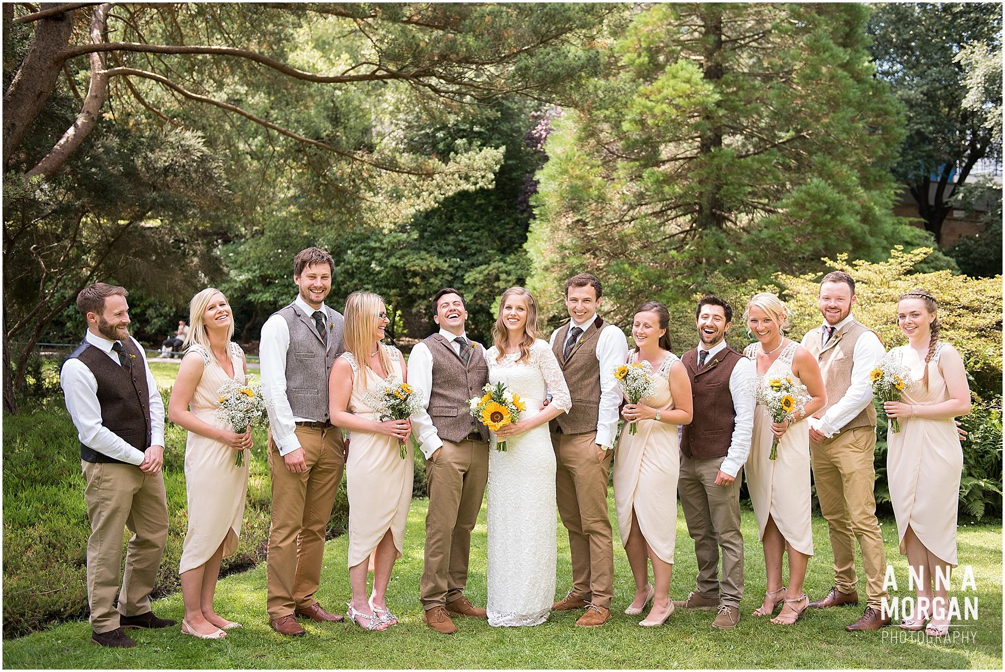 Katie & Hugh Branksome Chine beach wedding Dorset-32