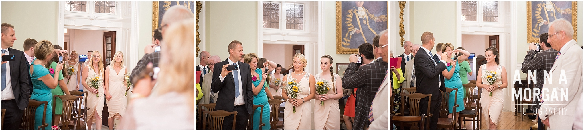 Katie & Hugh Branksome Chine beach wedding Dorset-9