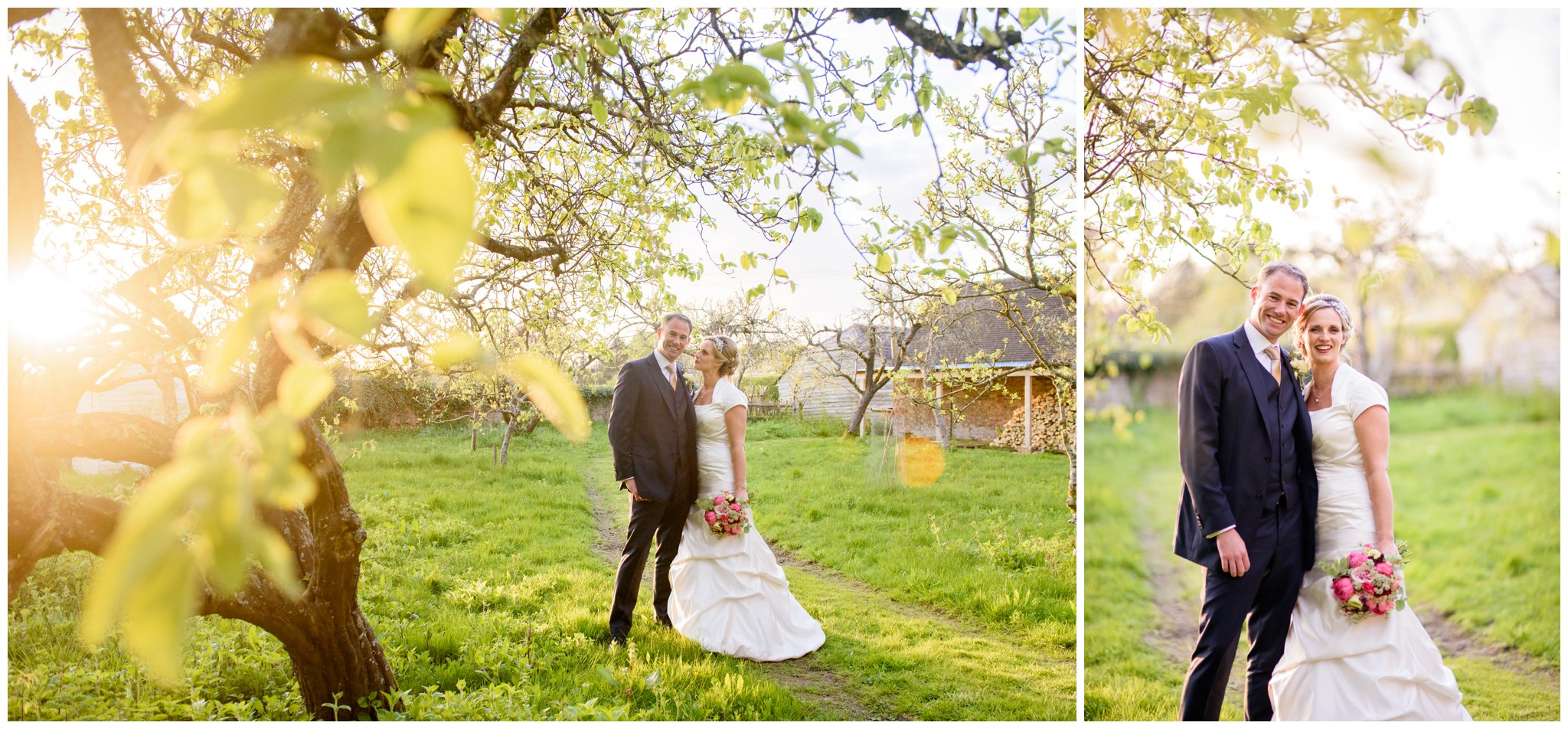 orchard country wedding at deans court wimborne dorset