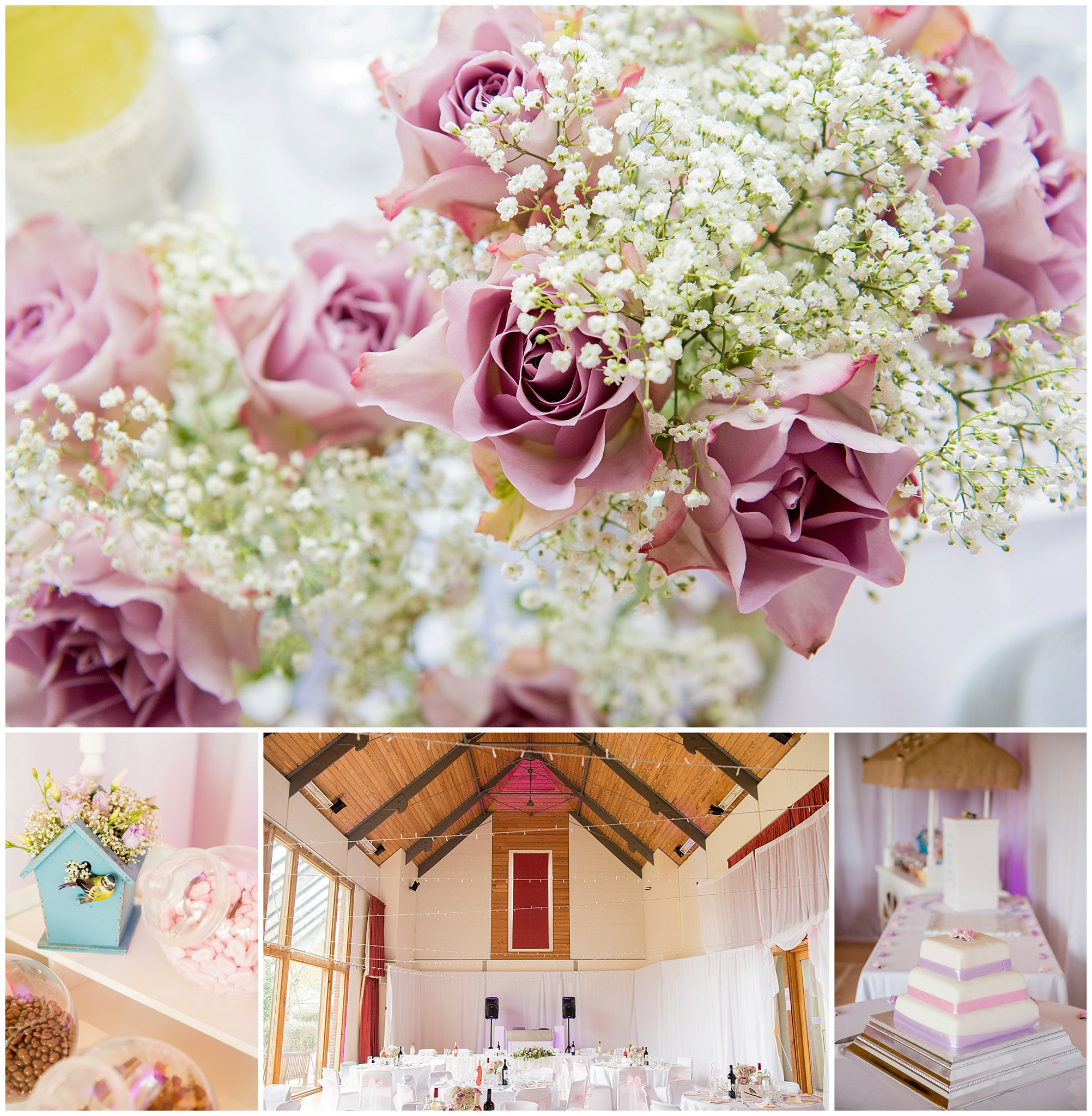 Itchen Abbas Village Hall wedding reception